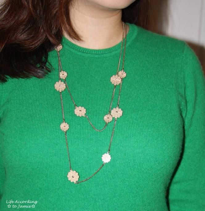 Floral Charm Necklace 3