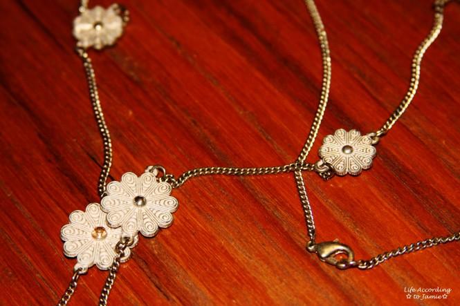 Floral Charm Necklace 4