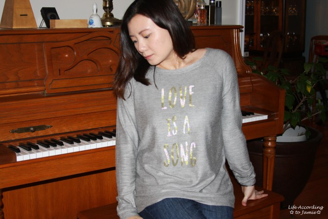 Love is a Song - Sweater 3