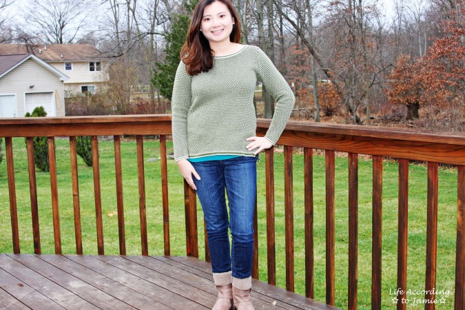 Olive Green Knit