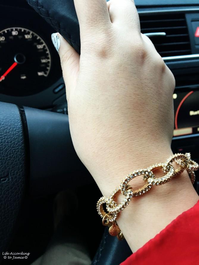 Pavé Link Bracelet 1