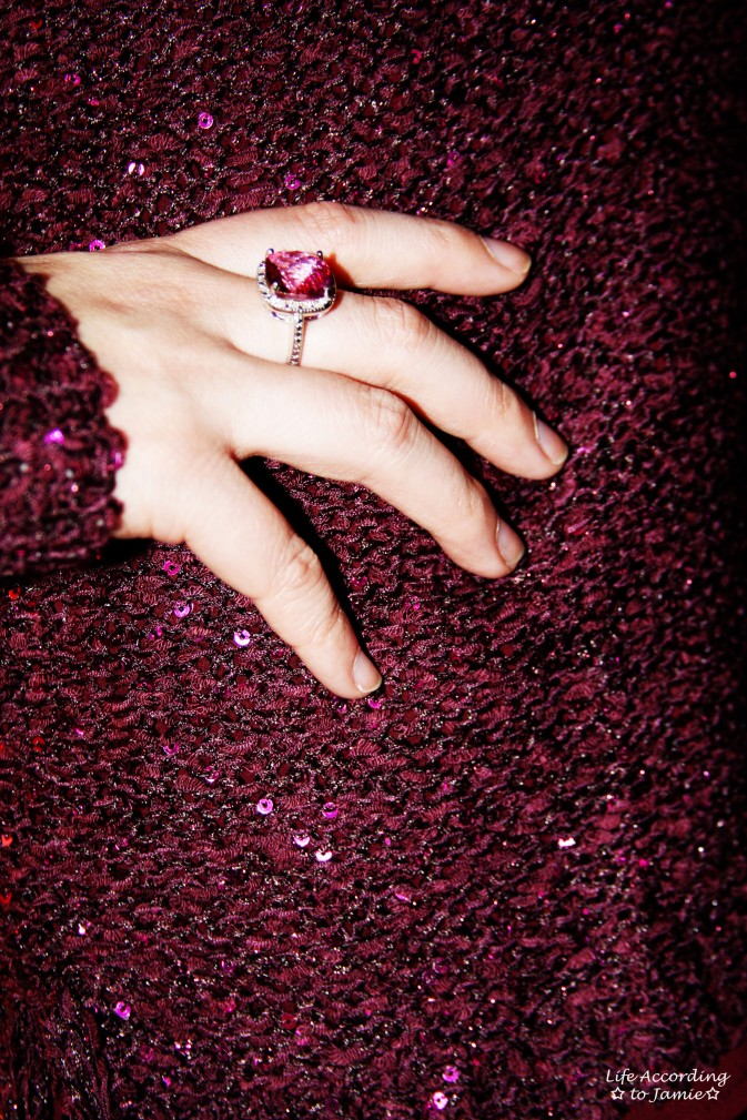 Pink Sequins & Ring 3