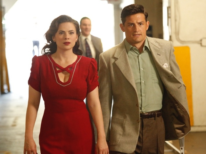 Hayley-Atwell-Agent-Carter-Red-Dress