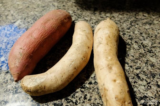 Japanese & Hawaiian Sweet Potato 1