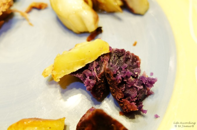 Japanese & Hawaiian Sweet Potato