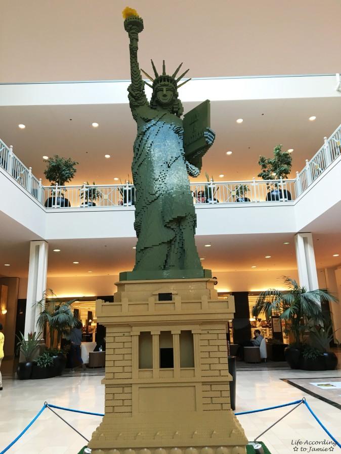 Lego Americana Roadshow - Statue of Liberty