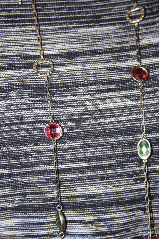 Multicolored Gem Necklace