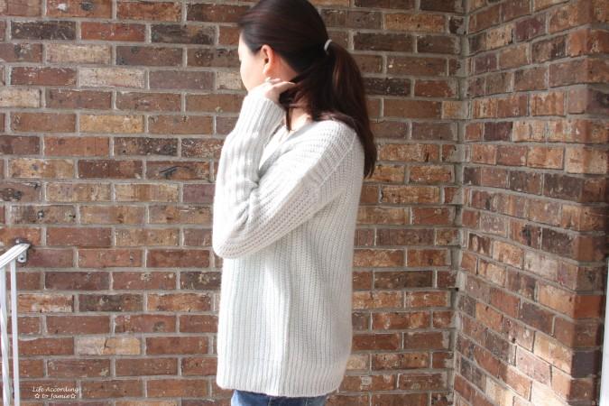 Open-Back Shaker Knit 2