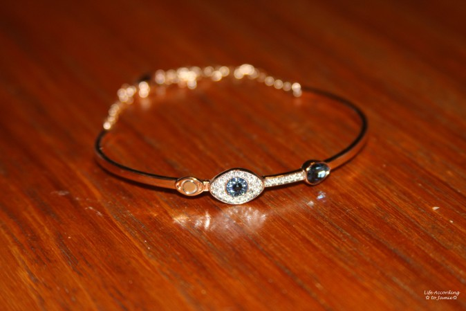 Swarovski Duo Evil Eye Bangle 1