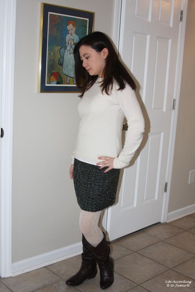 Tweed Skirt 1
