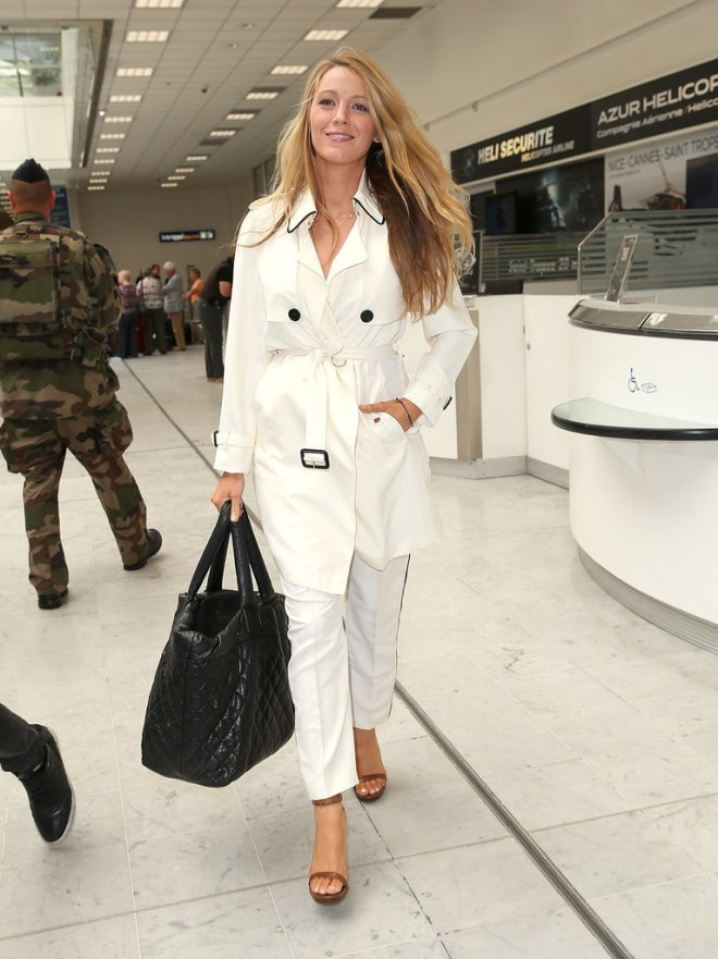 Blake Lively - Burberry Trench