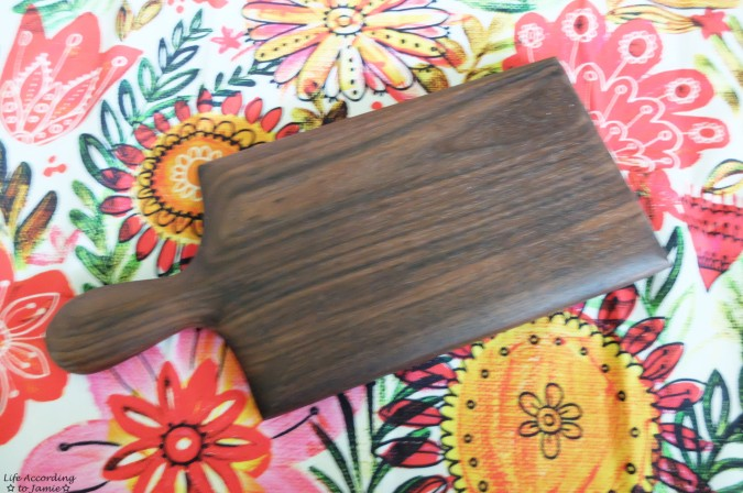 Dominik Woods - Rustic Serving Board