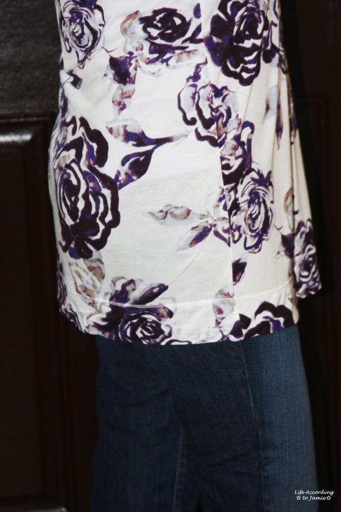 Purple Floral Top 2