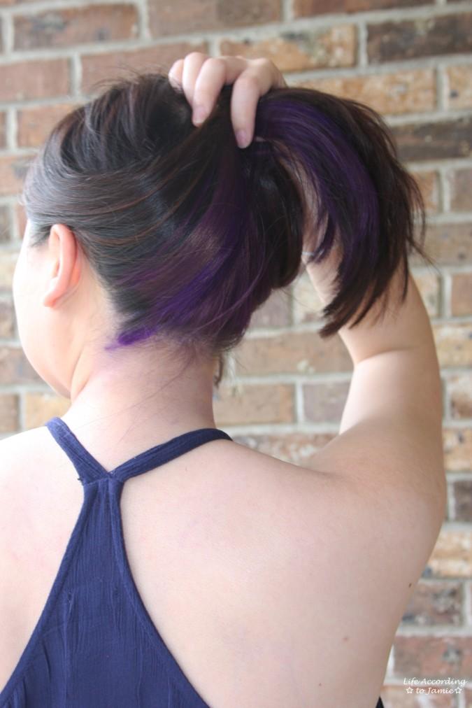 Purple Underlayer Hair 1