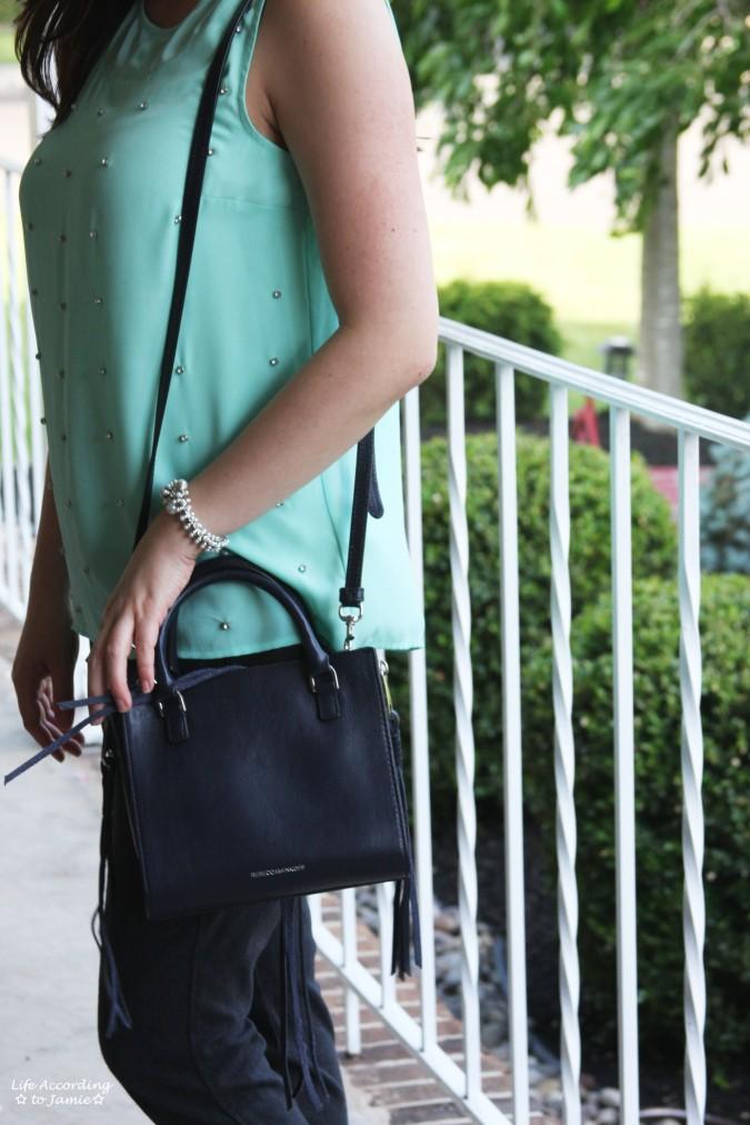 Rebecca Minkoff Side Zip Mini Regan 3