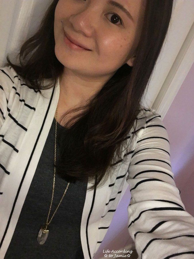 Stripes & Quartz Necklace 2