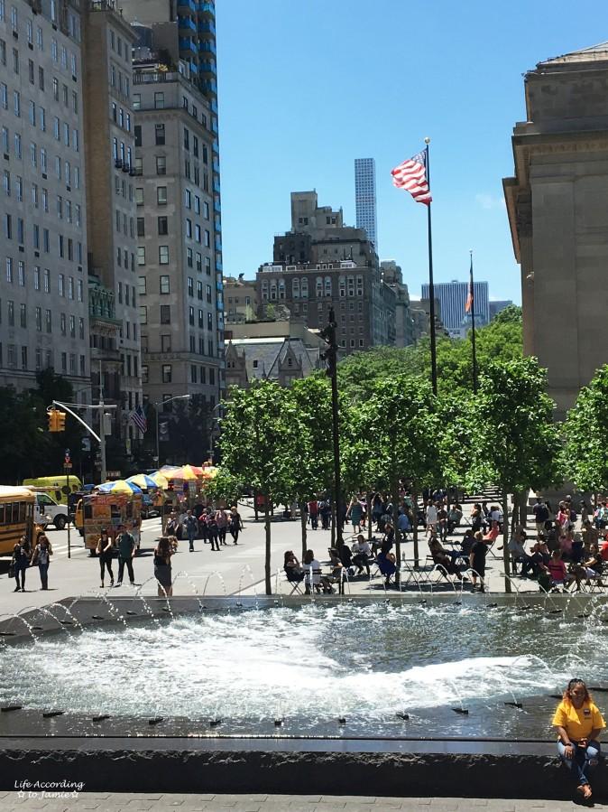 The Met - Fountain