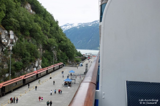 Arriving in Skagway