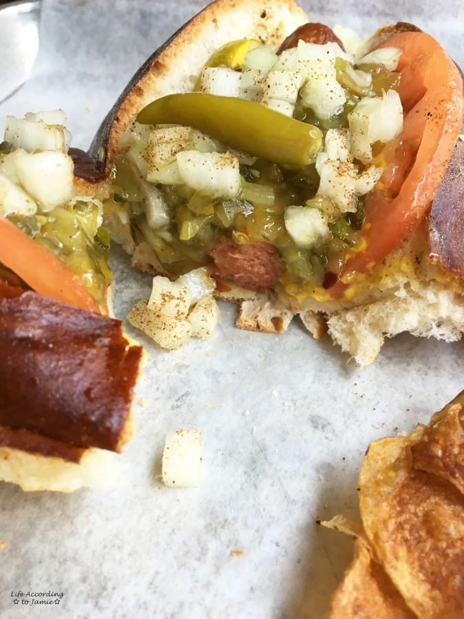 Destination Dogs - Chicago Bull Hotdog  2