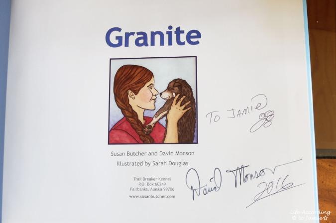 Granite - Signed Book