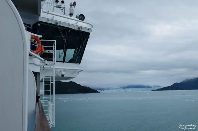 Hubbard Glacier from Cruise Ship 1
