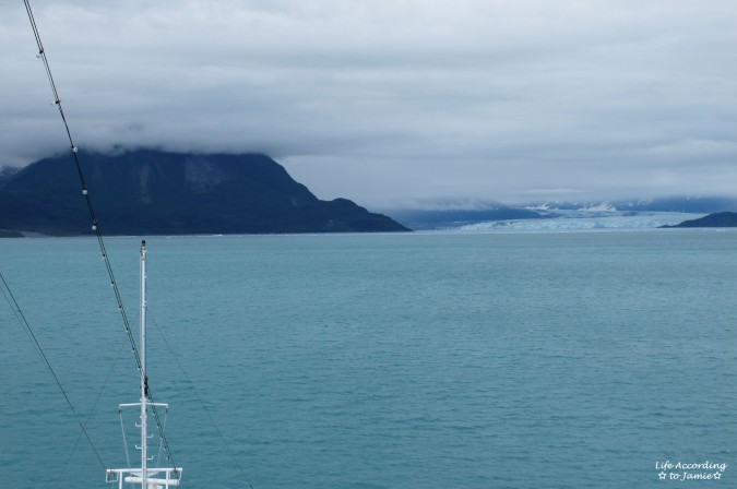 Hubbard Glacier from Cruise Ship