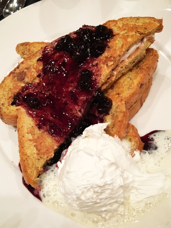 Lingonberry French Toast