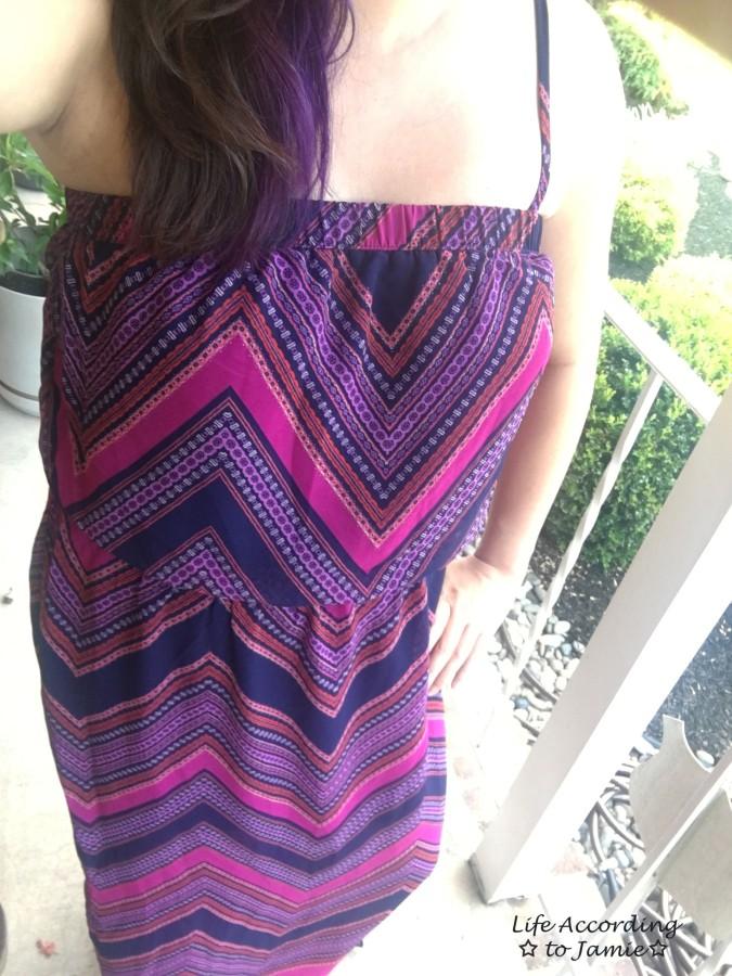 Scarf Print Maxi Dress 4