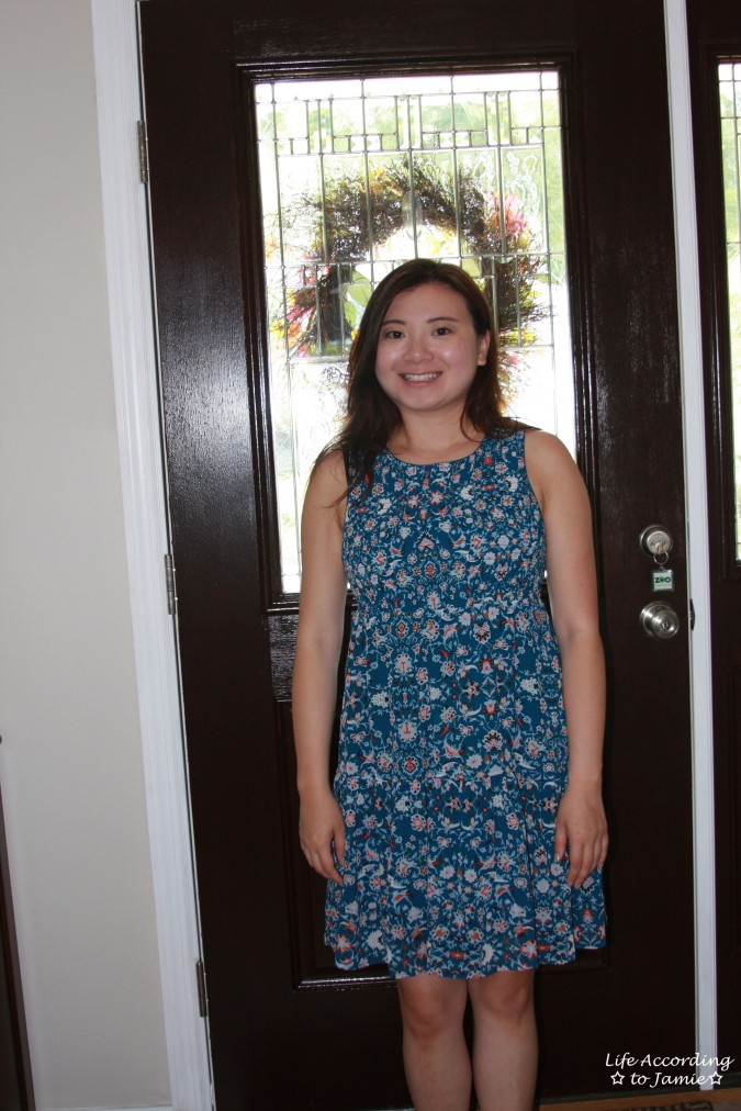 Floral Smocked Babydoll Dress 1