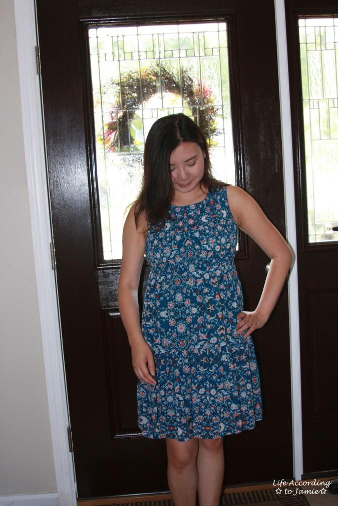 Floral Smocked Babydoll Dress 2