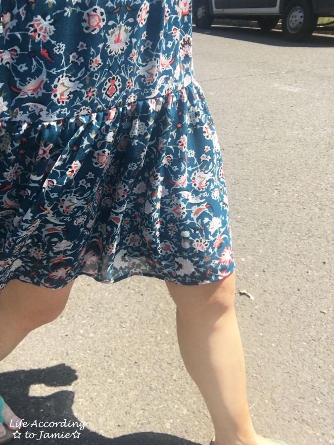 Floral Smocked Babydoll Dress 3