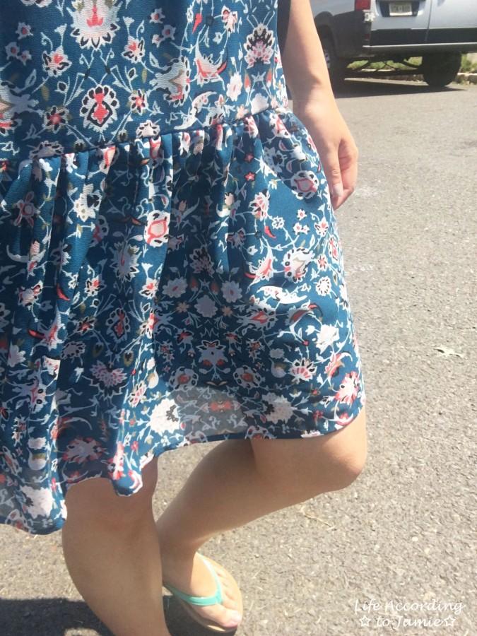 Floral Smocked Babydoll Dress 4