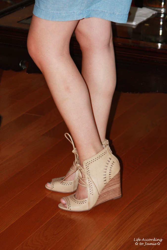 Lace Up Wedges 2