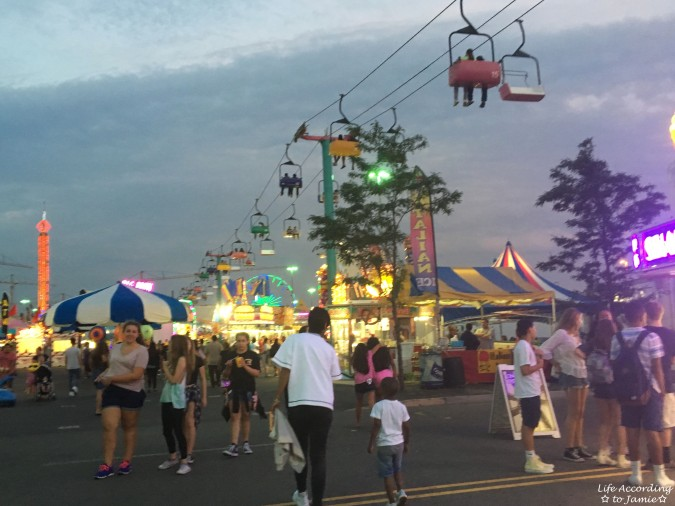 NJ State Fair - Night time