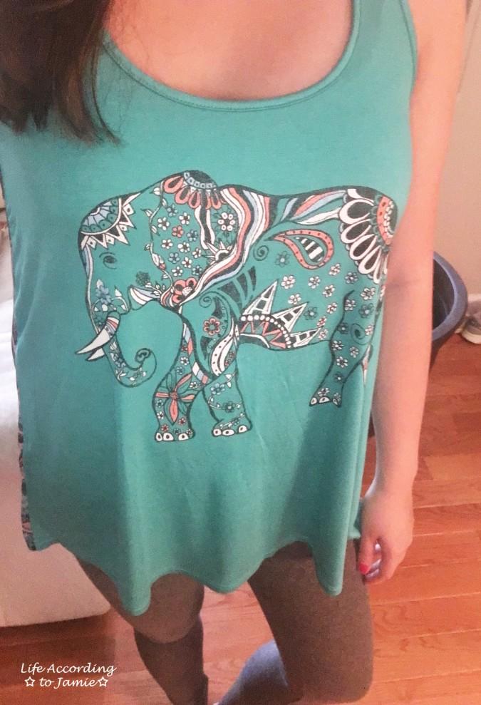 teal-elephant-tank-top