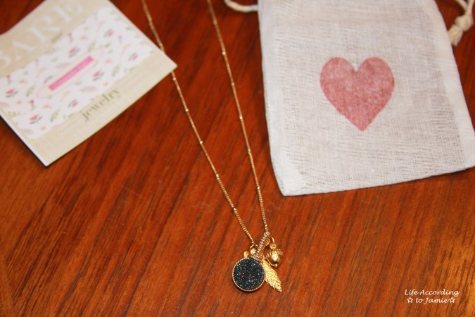 bareandme-fall-druzy-and-leaf-necklace-1