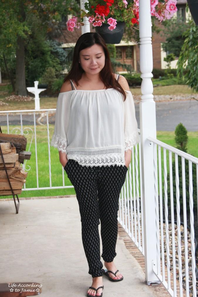 lace-off-the-shoulder-diamond-print-pants-6