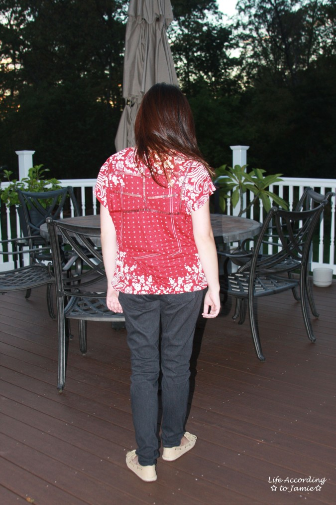 red-white-bandana-print-top-back