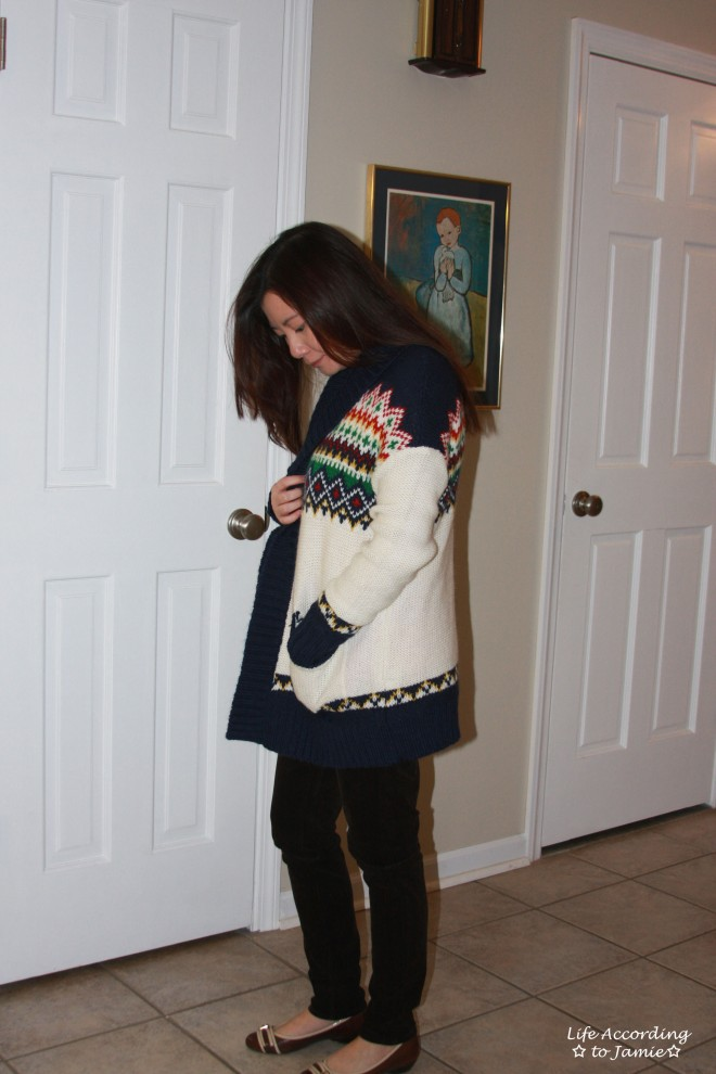 patterned-cardigan