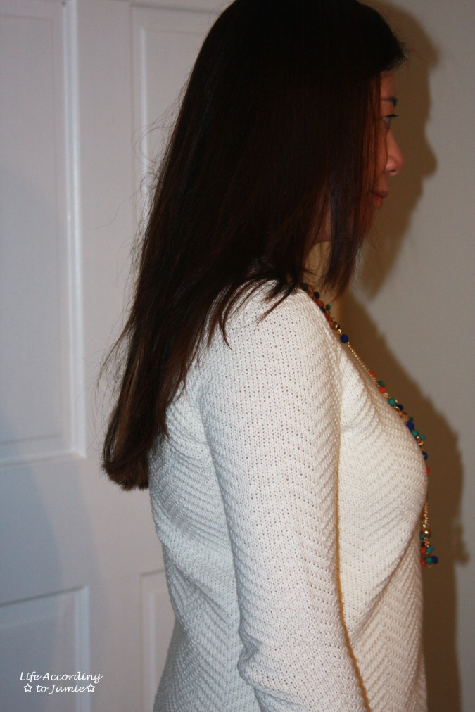 Chevron Texture Sweater 2