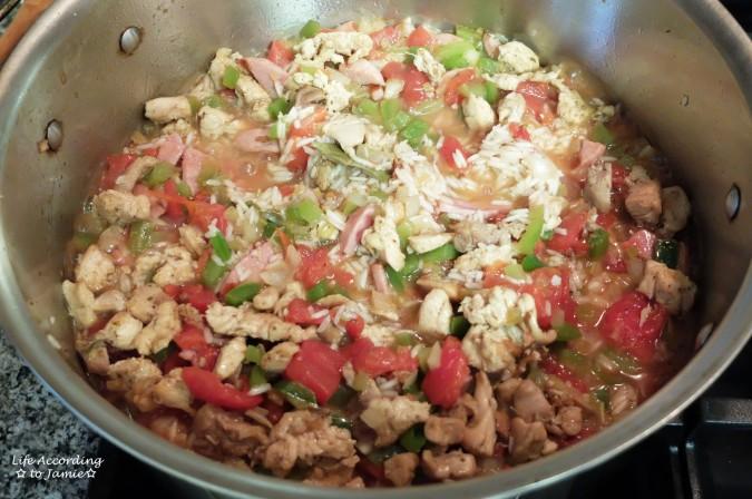Crawfish Jambalaya 2