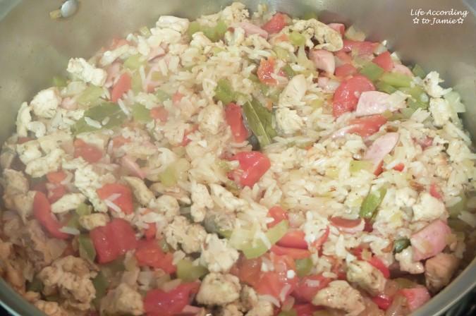 Crawfish Jambalaya 3