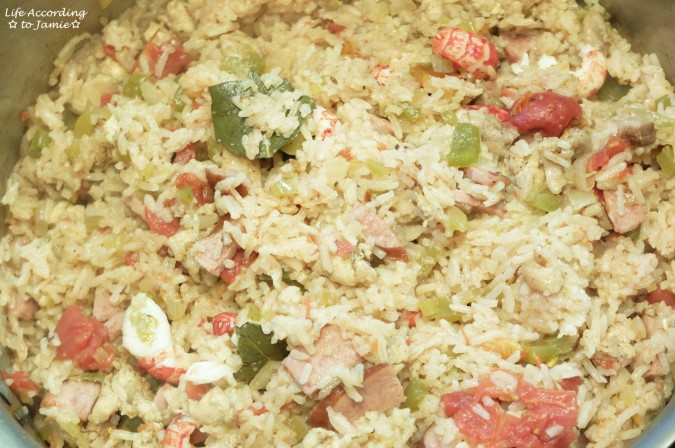 Crawfish Jambalaya 4