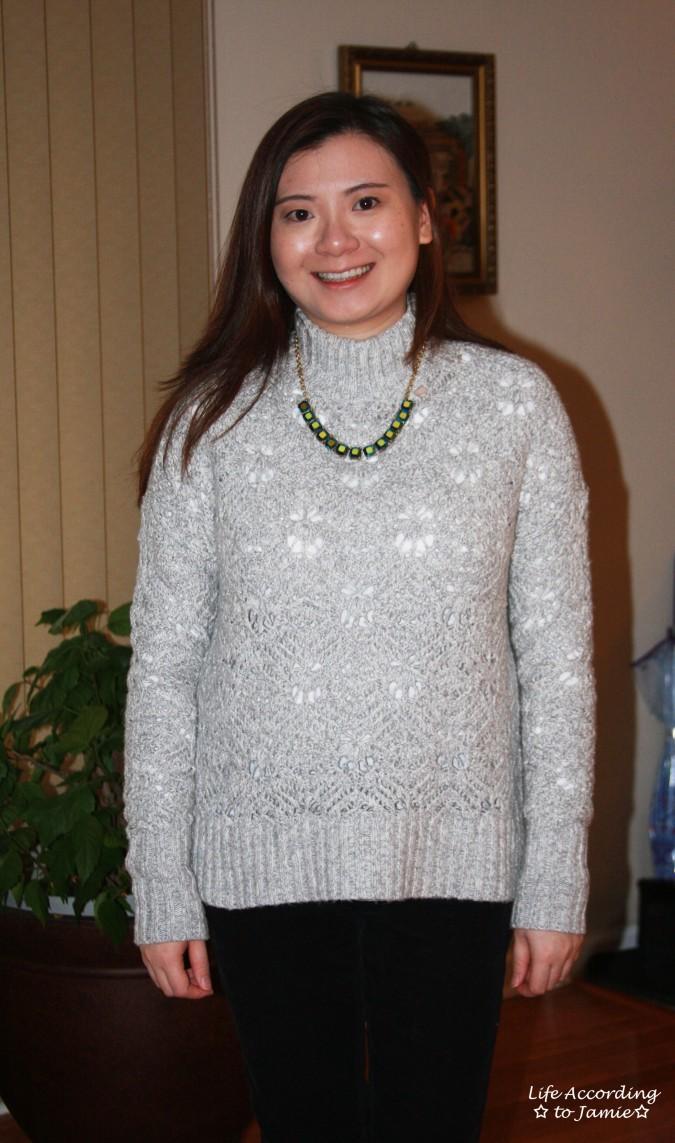Mock Turtleneck Sweater 3