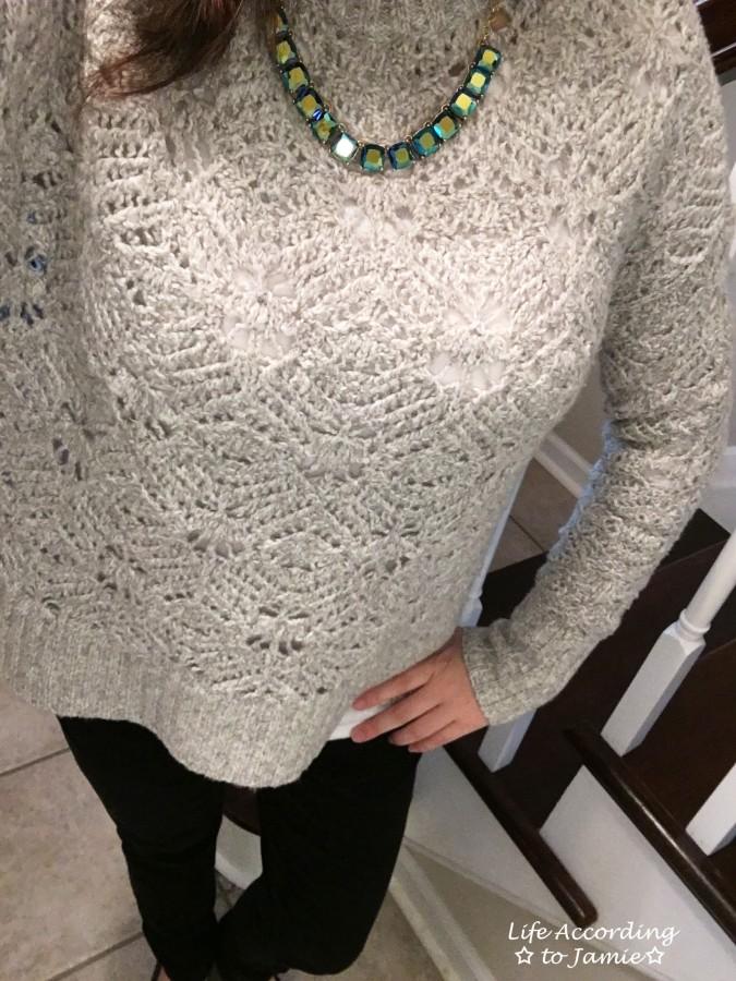 Mock Turtleneck Sweater 5
