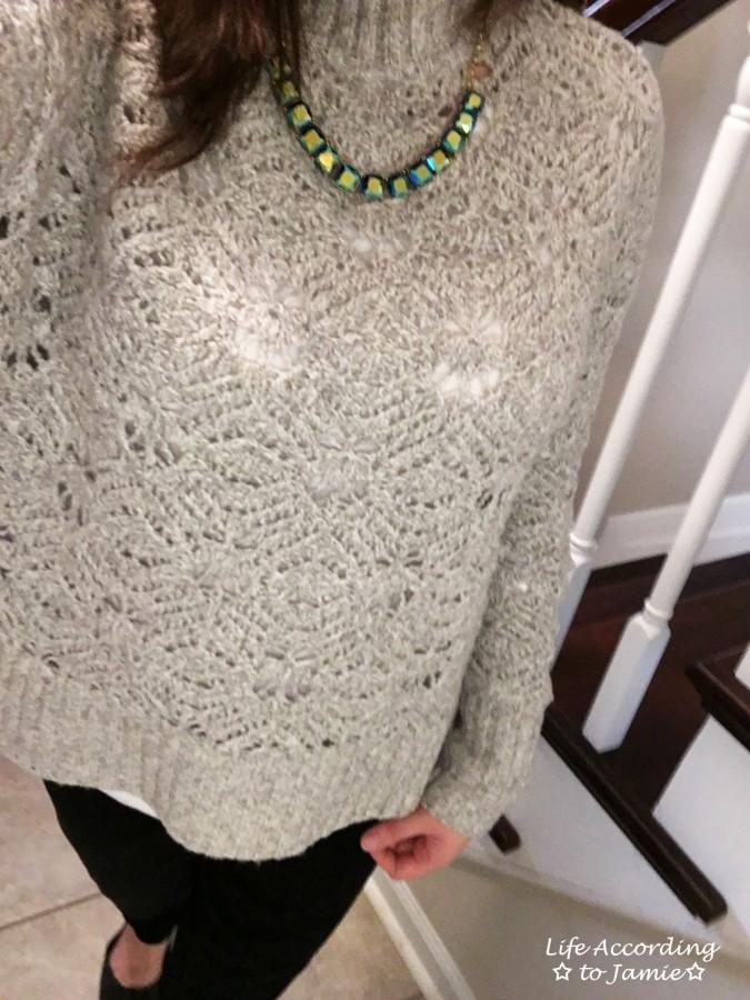 Mock Turtleneck Sweater 6