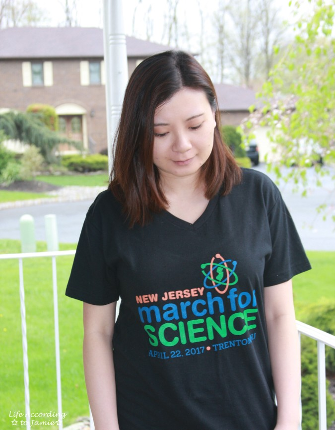 NJ March for Science tee