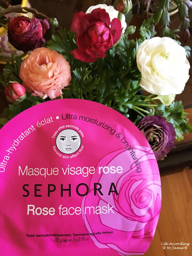 Sephora Rose Sheet Mask
