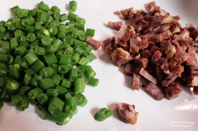 String Beans & Roast Pork