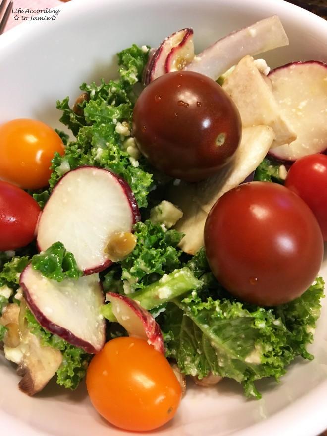 Wegmans Kale Mexican Salad
